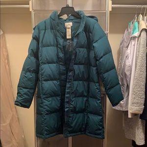 LL Bean Outdoor Coat - never worn